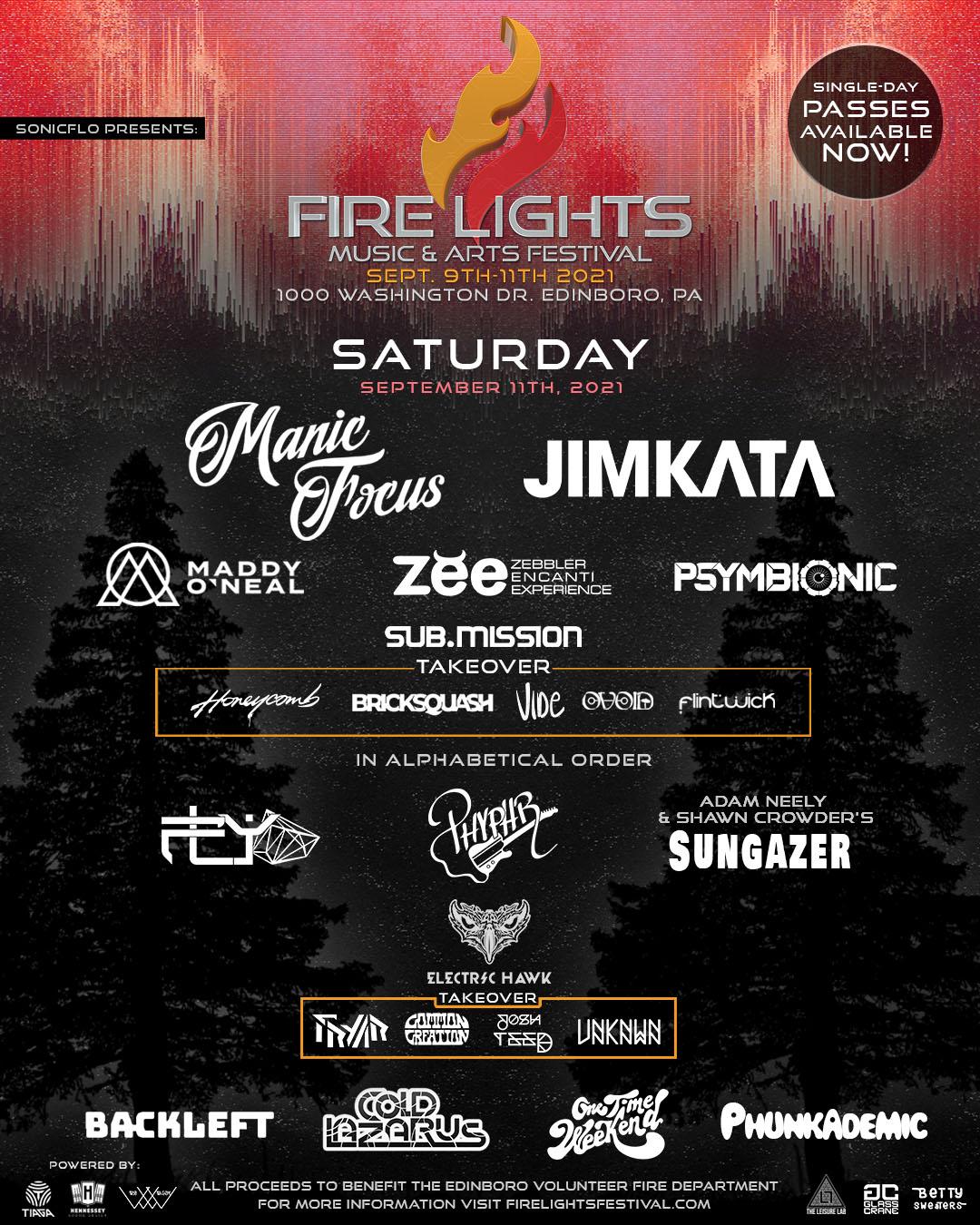 Firelights Saturday
