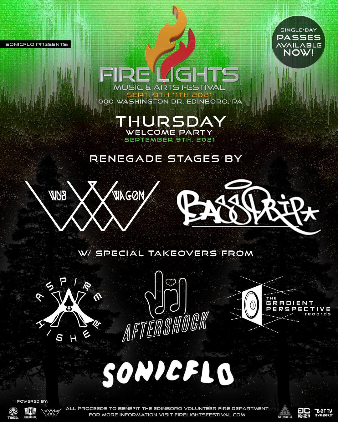 Fire Lights Thursday